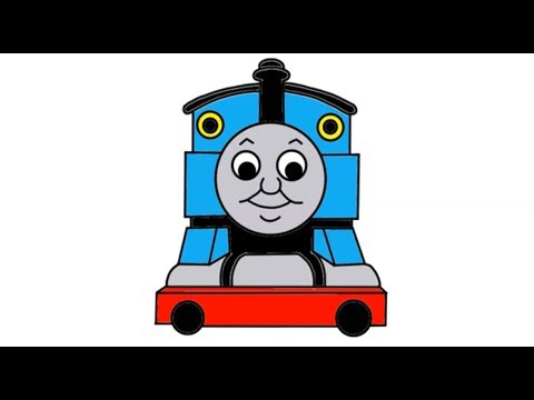Itsy Artist - How To Draw Thomas The Tank Engine From Thomas And ...