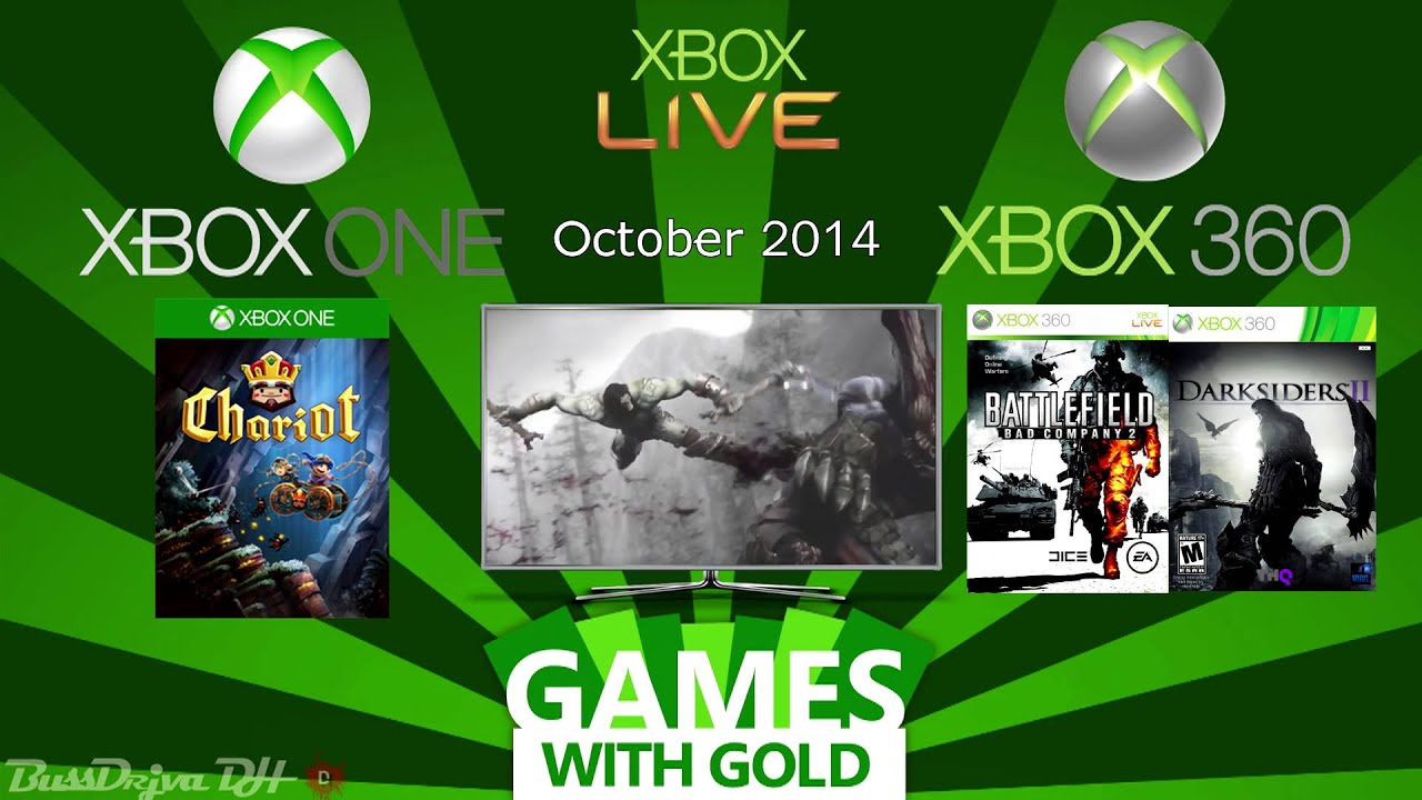 Xbox Games Wtih Gold October 2014 Xbox One Xbox 360