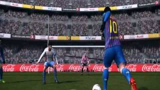PES 2012-Amazing Goal!!-MESSI GREAT!!! Thumbnail