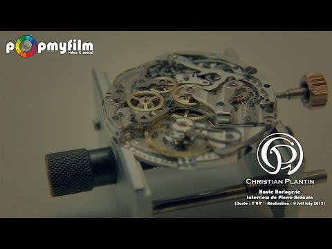 Christian Plantin - Interview de Pierre Ardouin - Haute horlogerie - Paris