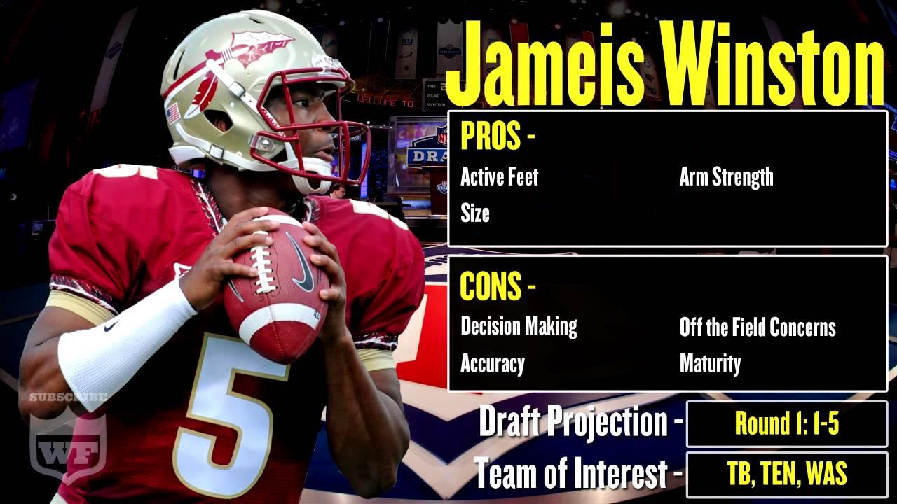 nfl draft profile jameis winston strengths and weaknesses 2015 nfl draft profile jameis winston strengths and weaknesses projection
