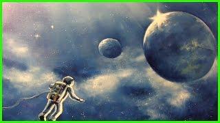 Уроки живописи маслом Александра Южакова Космос