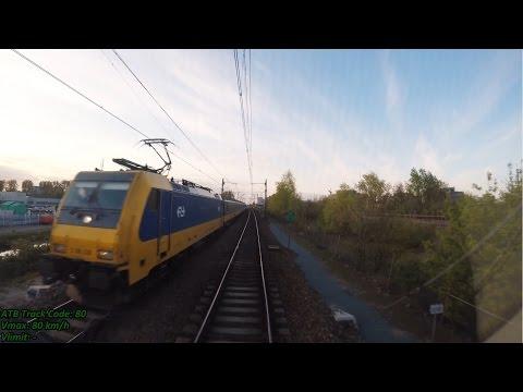 Cabinerit 4K Hoofddorp – Schiphol – Amsterdam CS met SPR 5873 op 19-04-2017 [CAB VIEW]