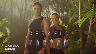 A Lenda de Tarzan - #DesafioTarzan | Semana 5 (Peito e costas)