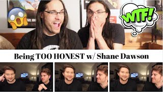 Being TOO HONEST w/ Shane Dawson I Our Reaction // Twin World