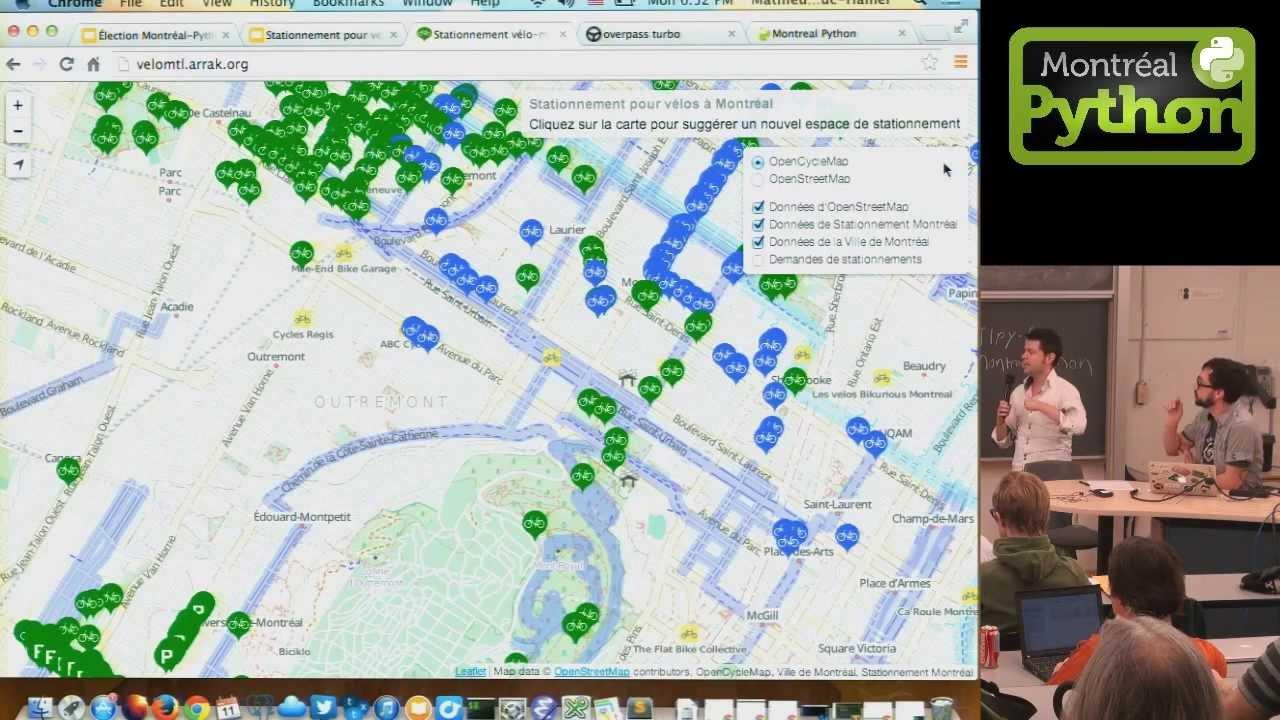 Image from Stationnements pour vélos à Montréal