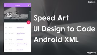 UI Design Timelapse | From Design to Code