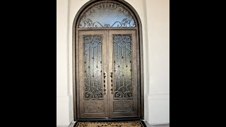 WATCH - an Iron Door from Start to Finish! Go Pro cam of the process!