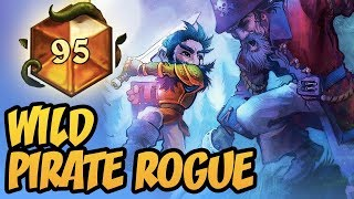 TOP 100 LEGEND | Wild Pirate Rogue | Rastakhan's Rumble | Hearthstone