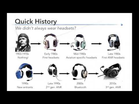 Webinar: What's new in aviation headsets