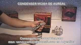 AUREAL MC001 MICRÓFONO CONDENSER, INFORMA SONARBIEN