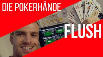Poker Flush - Wertigkeit bei Texas Holdem [Regeln lernen deutsch Video]
