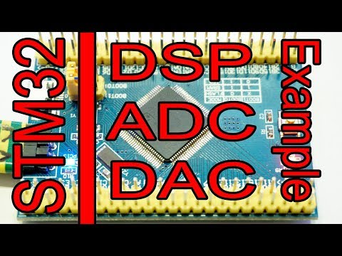 STM32 example of DSP, ADC and DAC - WildLab