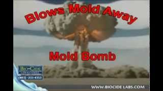 Mold Bomb Biocide Labs...Blows Mold Away... Call Today: (803) 233-4353
