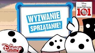 Zwierzęta kontra ludzie - Sprzątanie! | Ulica Dalmatyńczyków 101 | Disney Channel Polska