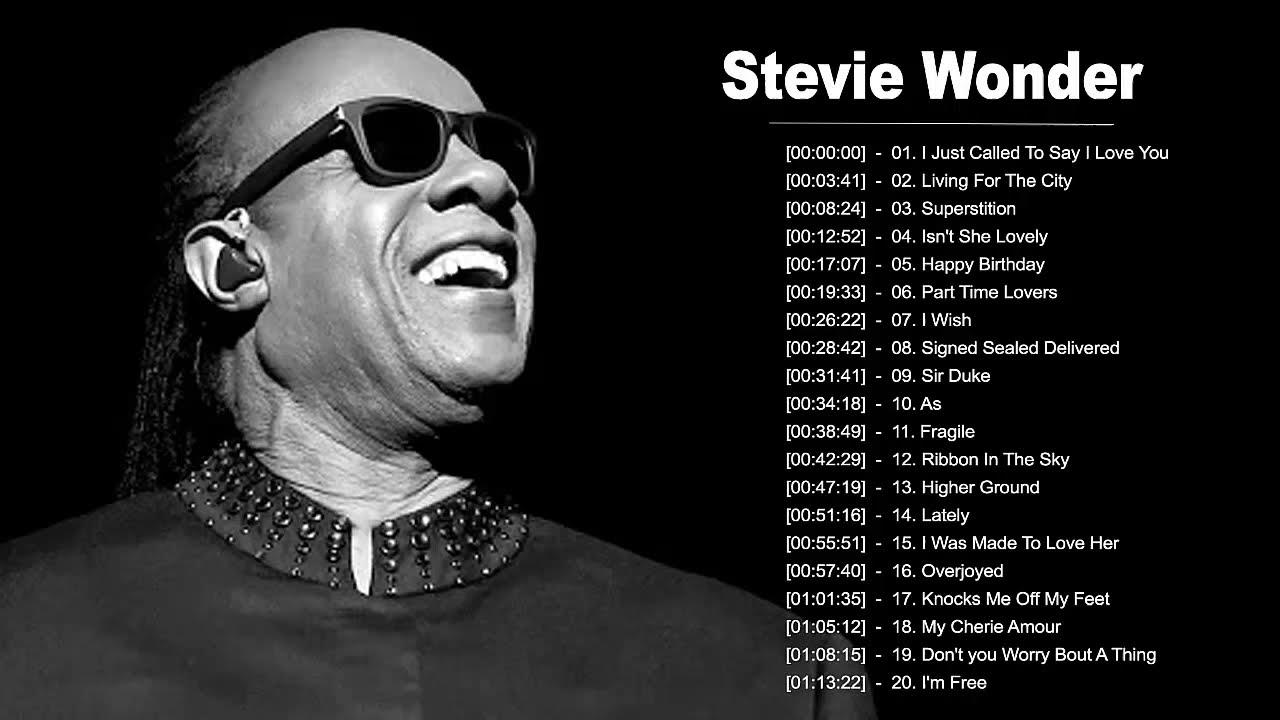 Download Stevie Wonder Greatest Hits - Best Songs Of Stevie Wonder - Stevie Wonder Collection 2020