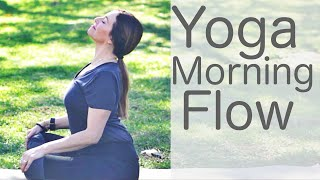 Video 30 Minute Yoga Morning Vinyasa Flow including Pranayama With Fightmaster Yoga download MP3, 3GP, MP4, WEBM, AVI, FLV Maret 2018
