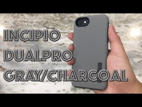IPhone 7 Incipio DualPro Case Gray/Charcoal