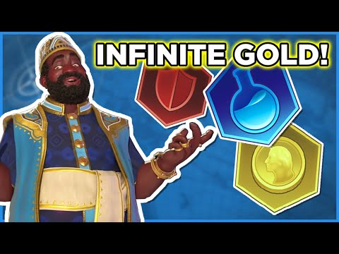 CIV 6 Is A Perfectly Balanced Game With NO EXPLOITS - Infinite Gold, Infinite Science, Infinite Army