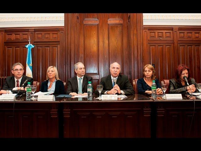 Lesa humanidad: se reunió la Comisión Interpoderes, convocada por la Corte Suprema de Justicia