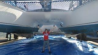 SE1 EP2. Buying a Sailboat. Fountaine Pajot Venezia 42' Catamaran Sea Trial. Sailing Trio Travels.