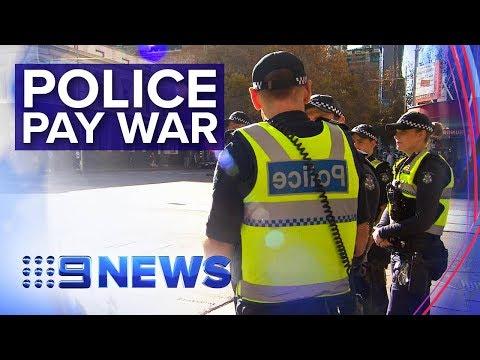 Police Union Battle Victorian Premier Over Pay | Nine News Australia