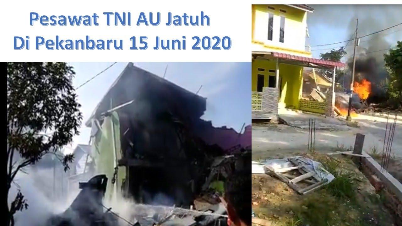 Pesawat TNI AU LANUD Roesmin Nurjadin Pekanbaru Jatuh 15 ...
