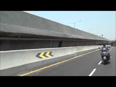 India's First Double Decker 6.45Km Long Flyover (Santa Cruz - Chembur Link Road in Mumbai)