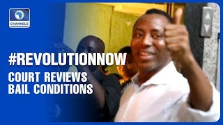 Court Reviews Bail conditions For Sowore, Bakare
