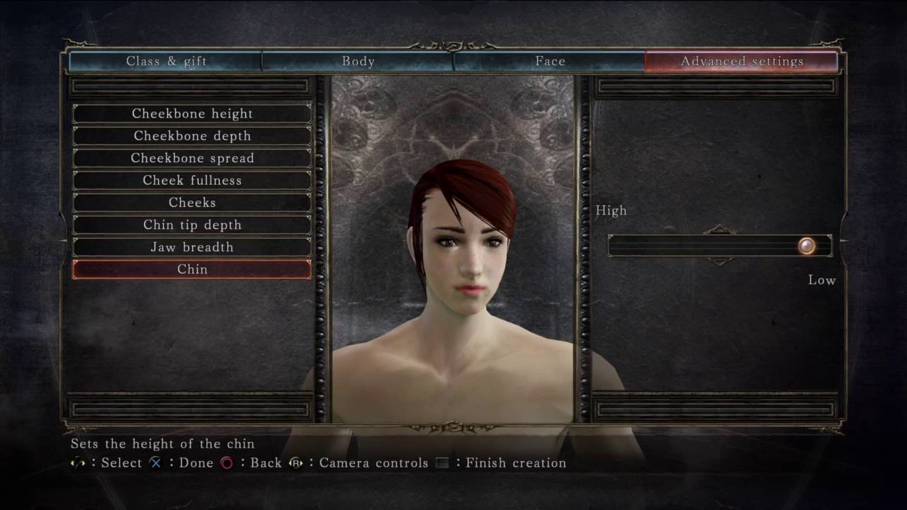 ac47a0172744 Darksouls 2 Female Character Creation Sliders.