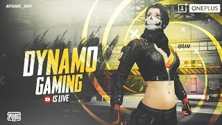 PUBG MOBILE LIVE WITH DYNAMO | TEAM HYDRA CHICKEN HUNTING | SUBSCRIBE & JOIN ME