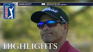 Adam Scott extended highlights | Round 1 | Wells Fargo
