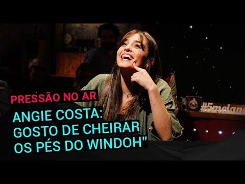 Angie Costa: 'Gosto de cheirar os pés do Windoh' | 5 Para a Meia-Noite | RTP