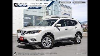 2014 Nissan Rogue SV - Harmony Honda - White - AU2452 - Kelowna, BC