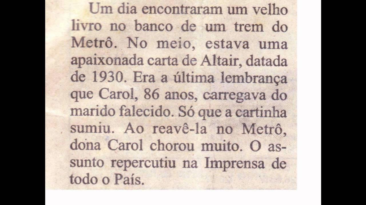 Cartas De Amor: CARTA DE AMOR DE 1930
