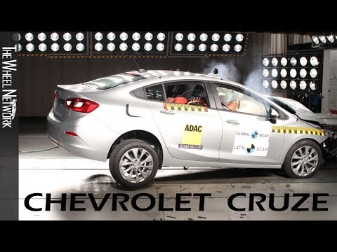 Chevrolet Cruze Safety Tests Latin NCAP | August 2019 Ratings