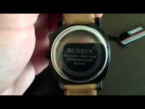 Curren GMT-8 8139 CHRONOMETER