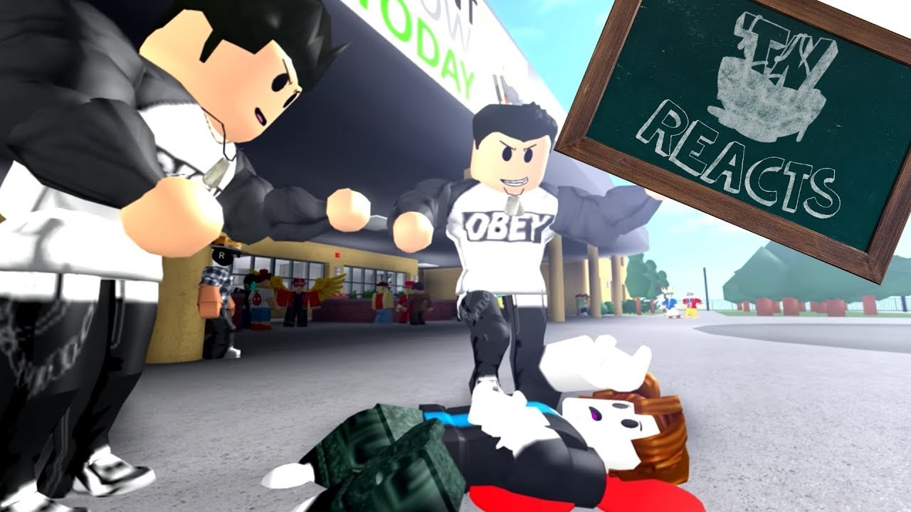 roblox bully story reaction thinknoodles reacts youtube