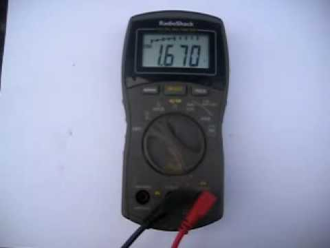 Earth Battery Voltage Pulse