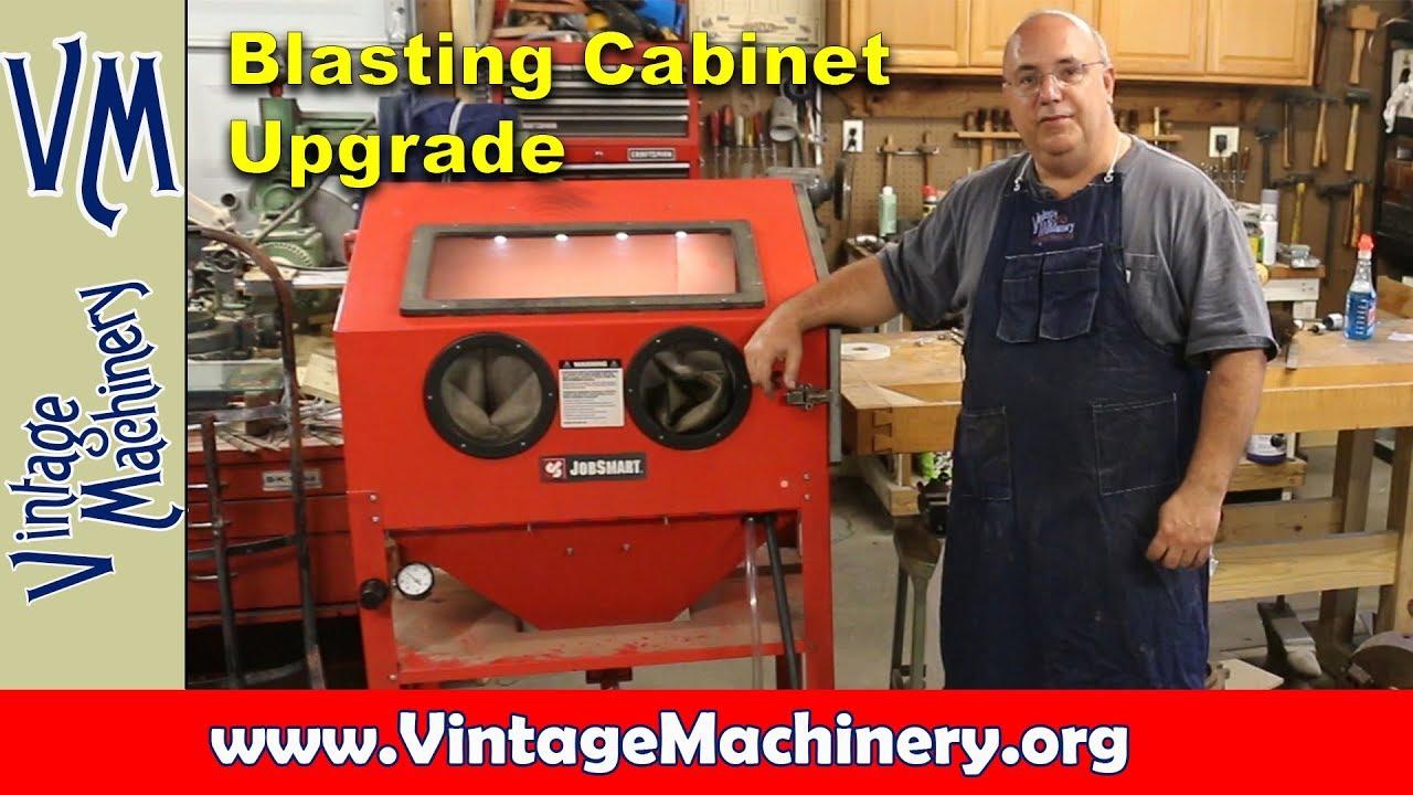 Blasting Cabinet Upgrade from Tacoma Company - YouTube