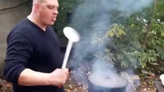 Готовим с OVI - Картофель с курочкой в казане