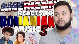 American REACTS // Romanian Music 5