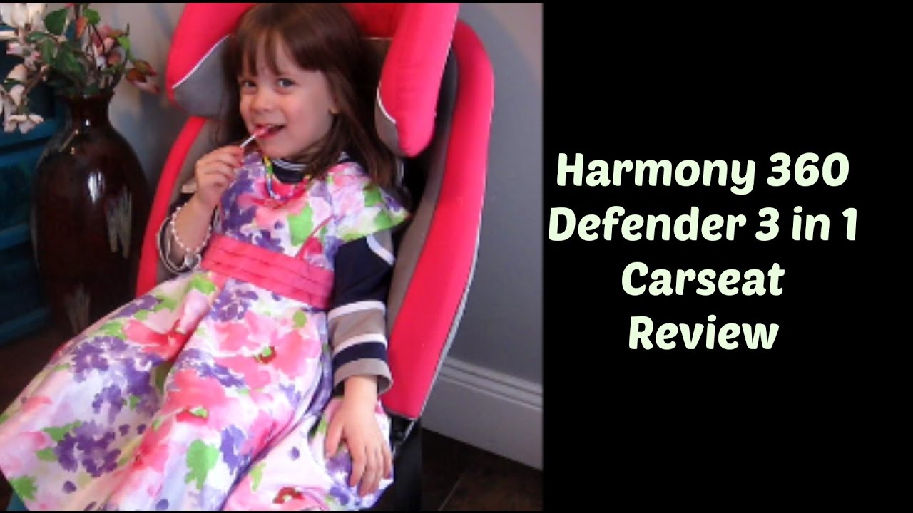 Harmony 360 Defender 3 In 1 Carseat Review