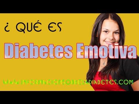 Que es La diabetes Emotiva