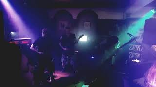 Zero Point Zero live at The County Rock Bar Chesterfield 'Death spiral'