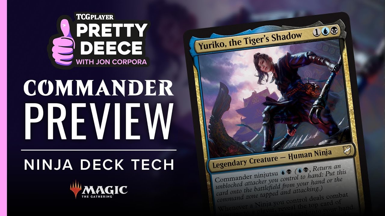 TCGplayer Exclusive Commander 2018 Preview: Yuriko, the