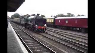 Severn Valley Railway SVR Autumn Steam Gala September 22nd 2013