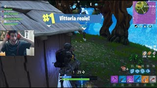 I've got my FIRST REAL BATTLE ON FORTNITE!!
