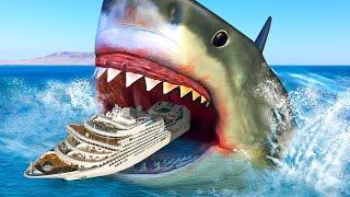 Гигантская акула мегалодон была в 2 раза больше, чем мы думали