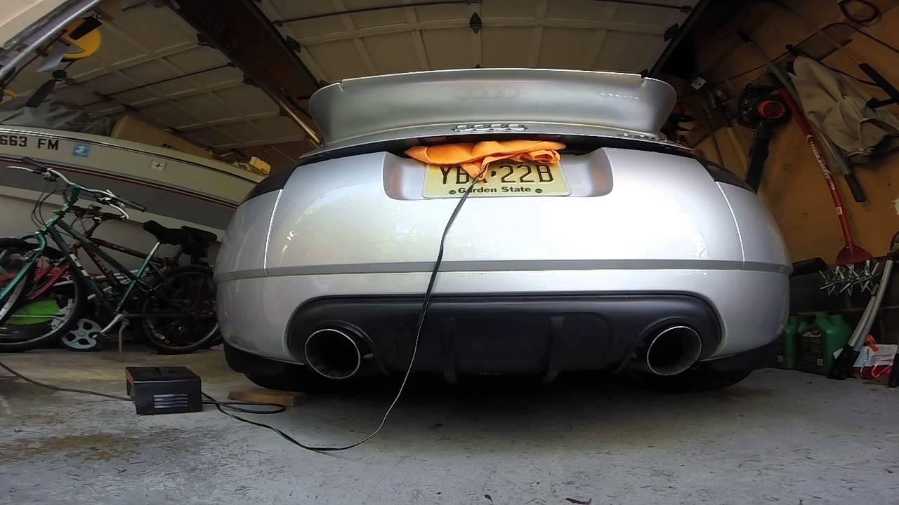 Audi Tt Cts Turbo Kit Garret Gtx3076r Exhaust Start Up